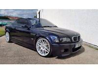 2002 BMW M3 SMG CONVERTIBLE CARBON BLACK 102,000 MILES HUGH SPEC STUNNING RARE EXAMPLE