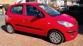 Hyundai i10 1.2 Classic -Electric Red (2010)