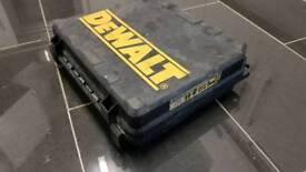 Dewalt box for drill or impact driver. Box only !!! For dewalt xr li-ion