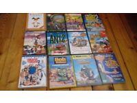 Job lot of children's DVD's