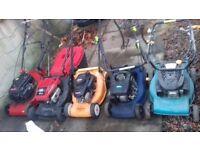 Lawnmowers for spares or repair