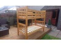 Wooden Shorty Bunk Bed