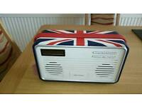 View Quest Retro dab radio with ipod/phone facility
