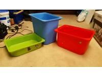 Ikea boxes for kids trofast storage unit