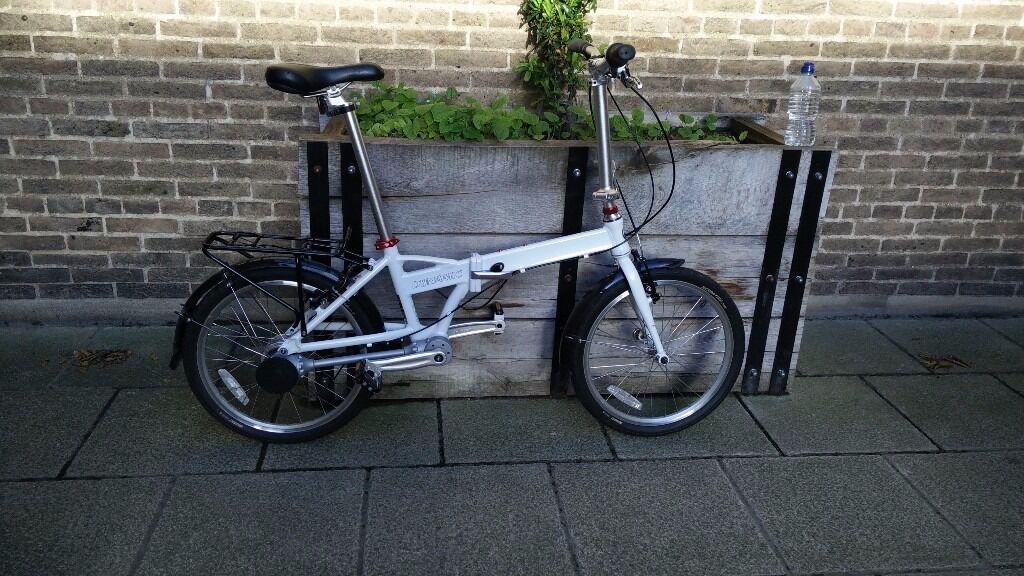 Dynamic Sidekick G4 Folding Bicycle Chainless Shaft Drive 8