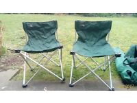 Three Camping Chairs for £20