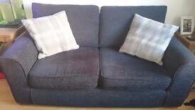 Next 'Colorado' Medium Charcoal Sofa