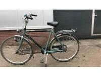 Gazelle Orange 7speed Dutch Bike