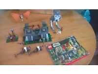 assorted lego starwars sets