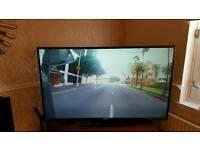 58 inch 4k ultra Full HD Bush TV
