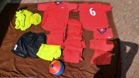Adult team football shirts