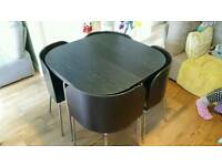 Ikea Fuzion Table and 4 Chairs