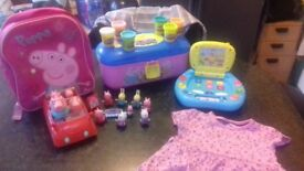 Peppa Pig and play doh
