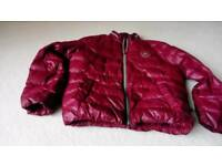 Converse padded maroon jacket US size medium