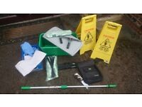 Traditional Window Cleaning Set (good brands)