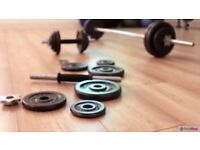 NEW 40KG Dumbbell and Barbell Kit