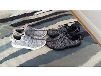 Adidas yeezy boost 350 ultra moon rock, black & Grey uk 7, 7.5 & 8