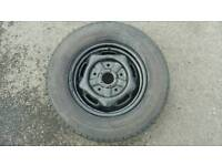 FORD TRANSIT SPARE WHEEL WITH TYRE