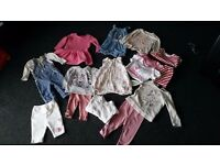 baby girls clothes bundle 6-9 month