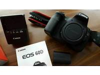 Canon 60D Body DSLR Camera Mint Condition Boxed With All Accessories