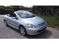 Peugeot 307 hard top convertible coupe