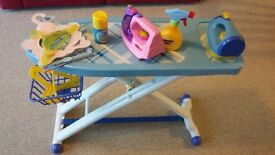 Just like home ironing board set and extra accessories