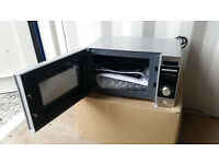 Tricity Silver Microwave Oven..with instruction