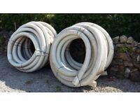Building Materials: OSMA Subsoil Land Drain Pipe Coil 100mm x 25 metres