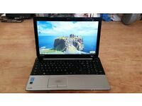 toshiba satellite c55 windows 7 500g 8g memory webcam wifi dvd drive processor intel core i3
