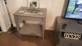 Ikea Lliatorp tv unit and side table