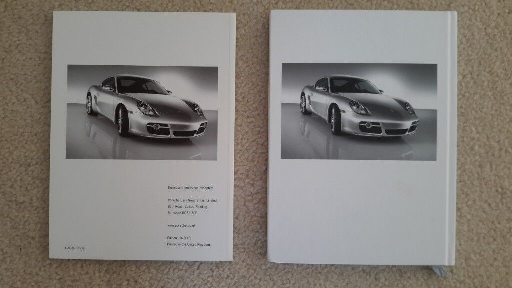 Porsche Brochure And Price List Cayman S In St Albans