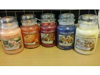 Job lot of Yankee candle s ×5