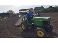 John deere 955 compact tractor