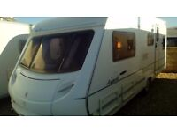 Ace award fixed bed 2004 touring caravan