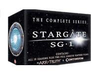 Stargate complete series Dvd boxset+ bonus films