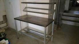 Stailess steel table