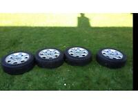 """Genuine BMW alloy wheels 16"""" with winter tyres"""