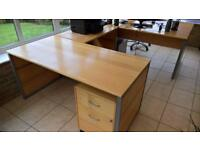 Viking pine heavy duty Office Desk. Excellent condition.