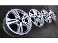 """16"""" alloys wheels 5x108 FORD FOCUS mondeo s c-max transit connect 5stud fitment (center caps incl.)"""