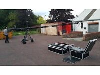 8 Meter / 26 foot camera Crane jib motorised head pan tilt head focus zoom video 6 4 professional