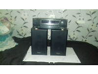 Reciver Amplifier+Speakers