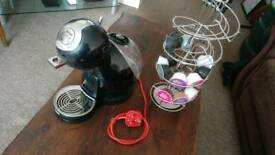 Nescafe Dolce Gusto Coffee Drink Maker and Pod Stand