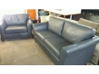 Rrp £2400 marks & spencer large abbey 3 seater sofa matching love chair only £495