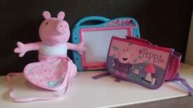 Peppa pig build a bear /bundle of nearly new items
