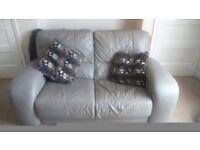 Leather sofa £50