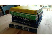 Jamie Oliver recipe books