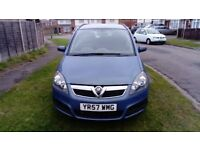 Vauxhall Zafira 1.6 Life, 2007 57 plate, Repair or spares