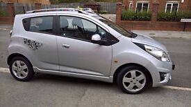 Chevrolet Spark 1.2 lt 2011 in silver 2 owners from new mot may 2017 excellent condition