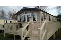 Luxury, Bordeaux Exclusive Caravan for hire @ Seton Sands Holiday Village, 2 Bedroom-Sleeps 4/5