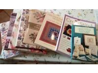 8 needle work/ cross stitch books, 5 Hardback 3 soft back, all in excellent condition